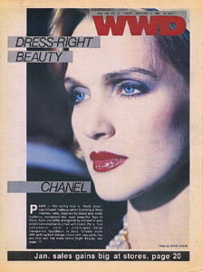 wwd_chanel cover of model Diane Dewitt